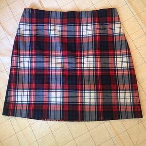 Vineyard Vines Plaid Skirt, Size 4